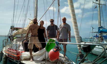#1 Dix-neuf jours en mer, l'effervescence du départ