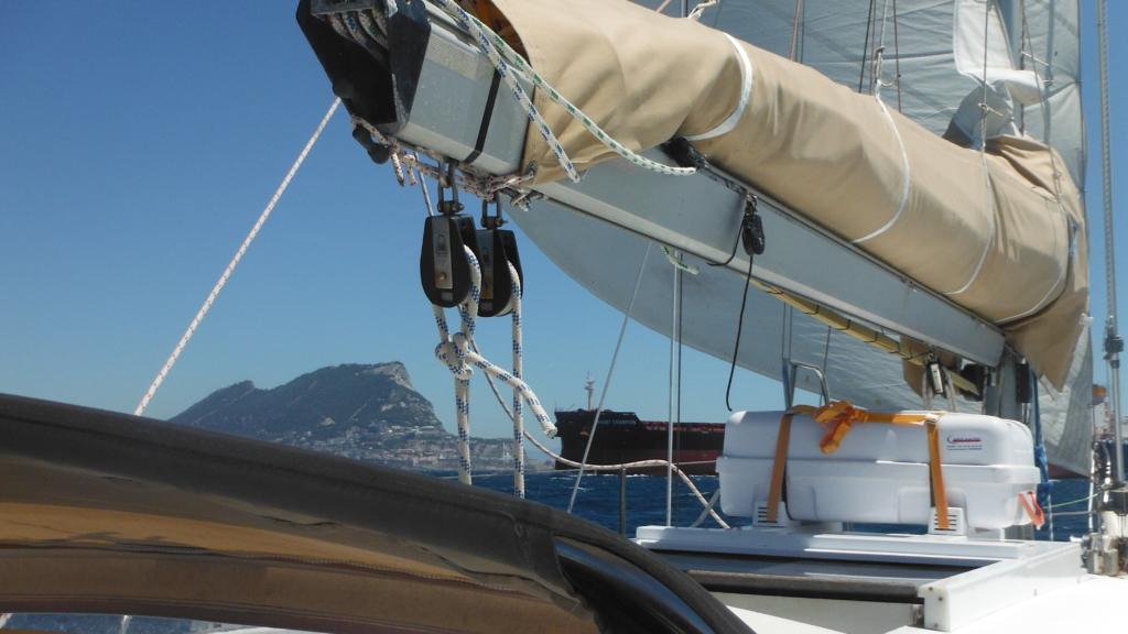 Vacances dans la Baie de Cadix et passage du détroit de Gibraltar