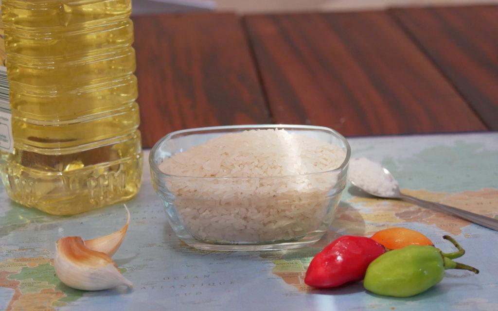 Le riz à la chilienne