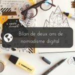Bilan de deux ans de nomadisme digital